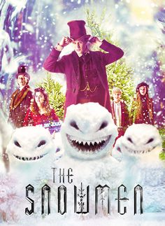 The Snowmen poster.. critics say that this episode is the best episode of Doctor Who.. ever! @_@ .. I can't wait!! :D.. XD