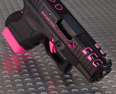 Understand the Glock trigger better and notice how much you progress using your Glock pistol! Understanding the Glock Trigger Glock Pink Guns, Armas Ninja, By Any Means Necessary, Custom Guns, Fire Powers, Cool Guns, Bang Bang, Guns And Ammo, Concealed Carry