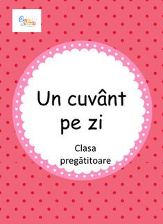 This is a PDF format in Romanian language. It contains 40 worksheets with word of the day. Acest format contine 40 de fise cu tema Un cuvant pe zi. Spring Activities, Free Activities, Vocabulary Worksheets, Kindergarten Worksheets, Romanian Language, Writing Graphic Organizers, Blends And Digraphs, School Hacks, School Tips