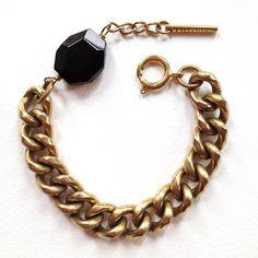 chunky chain bracelet by tilly doro.