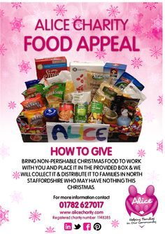 Get your workplace/school/community group involved! Non Perishable, School Community, Snack Recipes, Snacks, Pop Tarts, Workplace, Charity, Group, Christmas