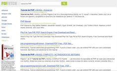 PDFfetch, un potente buscador de documentos y ebooks en formato PDF