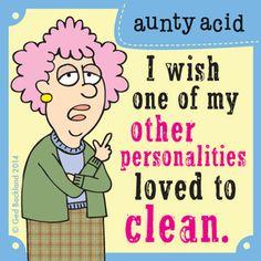 Aunty Acid Comic Strip, July 06, 2014 on GoComics.com