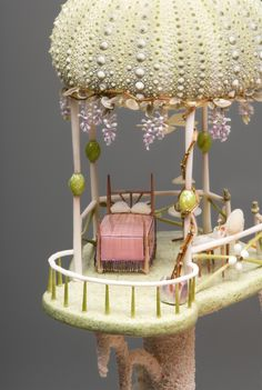 Mermaids Dollhouse: Bedroom | Green Bedroom Two…