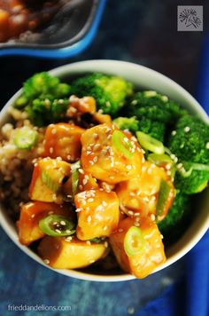 Sweet and Sour Tofu has all of the yumminess of take out, with ingredients you control! {vegan // nut free}
