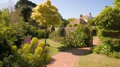 Step into the world of Rudyard Kipling by visiting his traditional English gardens in Rottingdean, near Brighton and Hove.