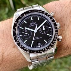 Omega Speedmaster Co-Axial 9300 Moonwatch Men's Watch Black Dial Chronograph Set · $5,227.00