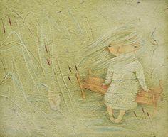 Wall Art Print Giclee Print Bedroom Decor  Spring by pastelanna, $50.00