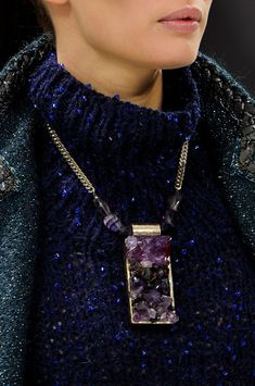 Chanel Fall 2012 - Details with jewels and gorgeous colors