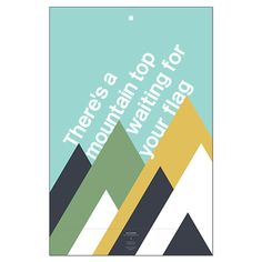 There's a mountain top waiting for your flag — A collaborative venture between Bernadette Jiwa and Believe in®.   For the original award-winning book and website — You Are the Mapmaker