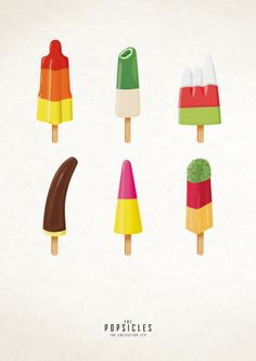 The Popsicle Project by Julia Marquardt, via Behance