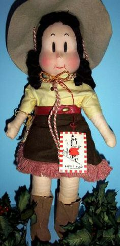 *LITTLE LULU DOLL ~ Cowboy Doll, 1948, by: Georgine Novelties