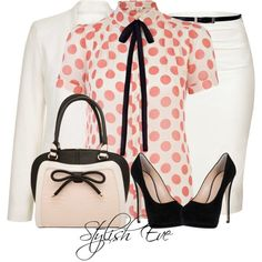 Stylish Eve 2013 Outfits: Formal Outfits in Bright Colors :: Cute bag!