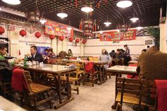 Baoyuan Jiaozi Wu, arguably the best dumpling restaurant in Beijing