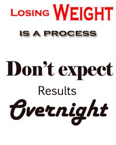 Such a good message.  Quick weight loss doesn't work. Think health, strength, and give the body time to find a new normal.