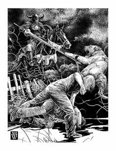 Serge Loginov, illustration to Anna Kirillova's novel «Big Height»