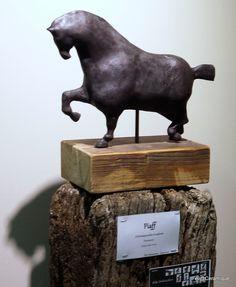 piaff on Behance Art Sculptures, Lion Sculpture, Equine Art, Big Black, Garden Sculpture, Behance, Horses, Statue, Outdoor Decor