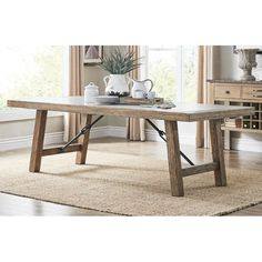 You'll love the Exmoor Dining Table at Birch Lane - With Great Deals on all products and Free Shipping on most stuff, even the big stuff.