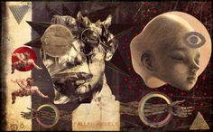 PAPERBLITZ - fallen angels -collage numérique 2015