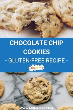 The BEST gluten-free chocolate chip cookies ever! Inspired by the toll house recipe these are chewy on the inside, with just the right amount of crunch on the outside! #cookies #glutenfree #glutenfreebaking Chocolate Chip Cookies Ingredients, Gluten Free Chocolate Chip Cookies, Best Chocolate Chip Cookie, Homemade Chocolate, Easy Cloud Bread Recipe, Tollhouse Cookie Recipe, Breakfast Cookie Recipe, Dairy Free Cookies, Twisted Recipes