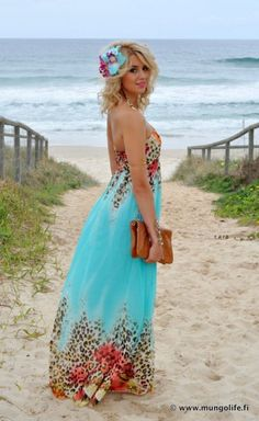 beachy floral