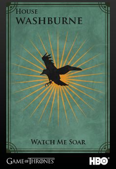 Firefly meets Game of Thrones- House Washburne