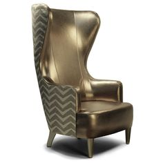demi wing chair - Buscar con Google Furniture Manufacturers, Occasional Chairs, Outdoor Lounge Chair Cushions, Lounge Seating, Lounge Chairs, Funky Furniture, Contemporary Furniture, Furniture Design, Wing Chairs