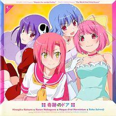 Hayate no Gotoku! × Kami nomi zo Shiru Sekai - Kiseki no Door  ▼ Download: http://singlesanime.blogspot.com/2013/04/hayate-no-gotoku-kami-nomi-zo-shiru.html