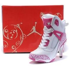 http://www.asneakers4u.com/ Air Jordan 3.5 High Heels White Pink