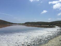 Salt Pond during drought 2015  St. John USVI