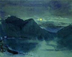 John Ruskin - Lac de Lugano
