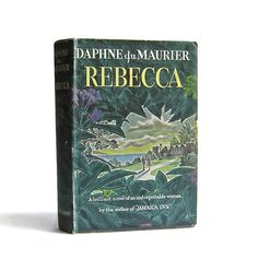 Rebecca  Daphne du Maurier  Vintage Book  1938- I remember laying on my parents bed and my momma reading out of it to me! This is one of her favorite books/Alfred Hitchcock  films.