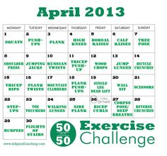 50 at 50 Exercise Challenge