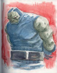 Darkseid by Tom Fowler
