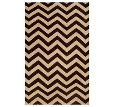 CHEVRON BLACK RUG