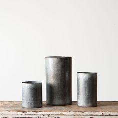 Zinc Norah Vase