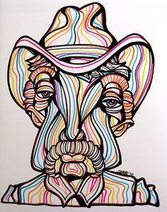 Cowboy Portrait by sammo371, via Flickr