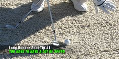 How To Hit A Long Bunker Shot - Sand Trap Golf Tips
