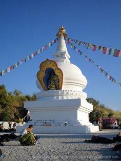 Kalachakra Stupa - Velez Malaga, Spain