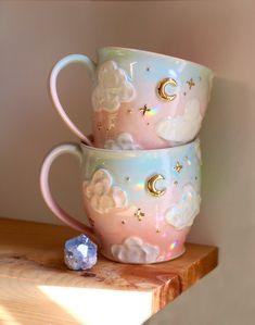 Cute Clay, Mug Shots, Mug Cup, Golden Hour, Ceramic Pottery, Tea Set, Find Art, Cute Art, I Am Awesome