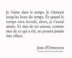 """Jean d'Ormesson """"Un jour je m'en irai sans avoir tout dit."""" Plus"""