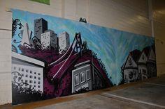 san francisco Graffiti Murals, San Francisco, Painting, Inspiration, Art, Biblical Inspiration, Art Background, Painting Art, Kunst