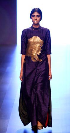 payalkhandwala - - Silk Embroidered Kurta and Silk Wrap Palazzo Lakme Fashion Week, India Fashion, Payal Khandwala, Embroidered Silk, Kurtis, My Wardrobe, Fashion Dresses, Silk Wrap, Gowns