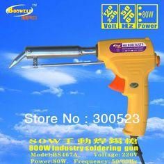 38.07$  Buy here - http://ain0v.worlditems.win/all/product.php?id=704936778 - EU plug,220V 80 Watts soldering gun,soldering iron,1pcs/lot, free shipping