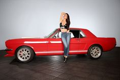 April being friendly with a mustang… Mustang 65, Mustang Girl, Sexy Cars, Hot Cars, Custom Pickup Trucks, Vintage Mustang, Funny Car Memes, Classic Mustang, Car Ford