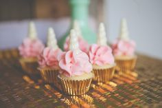 Unicorn cupcakes! Too cute!