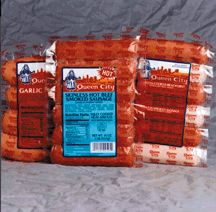 Queen City Sausage - Metts or Brats (12 - 14oz packages)