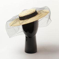 Collection hawkins Grand Bord Organza hat