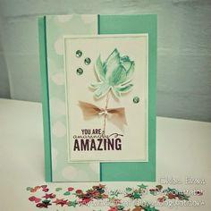 www.chloscraftcloset.blogspot.com.au - Lovely as a Lotus Blossom, Stampin' Up!