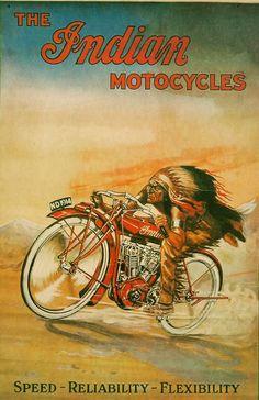 Handmade Vintage Retro Indian Motorcycles Tin Wall Sign Replica x Motos Vintage, Vintage Indian Motorcycles, Vintage Bikes, Antique Motorcycles, Yamaha Motorcycles, Yamaha R1, Custom Motorcycles, Custom Bikes, Ducati